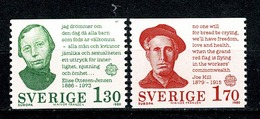 Sverige 1980  EUROPA  Yv 1088/1089**  MNH Cat. Yv. € 2,75 - Suède