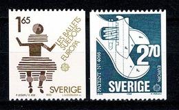 Sverige 1983  EUROPA  Yv 1219/1220**  MNH Cat. Yv. € 4,00 - Suède