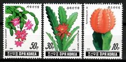Korea 1990 Corea / Cactus MNH Kaktus / Cu12518  41-26 - Cactus