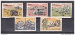 Cuba Nº 876 Al 880 - Unused Stamps