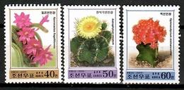Korea 1999 Corea / Cactus MNH Kaktus / Cu12604  40-12 - Cactus