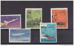 Cuba Nº 950 Al 954 - Unused Stamps