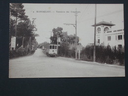 Ref5769 CPA De Mandelieu (Alpes Maritimes) - Terminus De Tramways N°9 édition Tairraz - France
