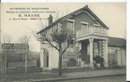 ESBLY - ENTREPRISE DE MACONNERIE - H. MASSE - (pas Courant) - Esbly