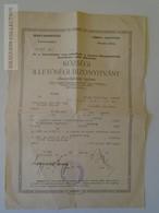 ZA148.2  Hungary Old Document - Illetőségi Bizonyítvány -  Sárvár  Balogh József  Komárom  1941 - Vieux Papiers