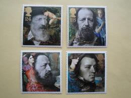 1992  Grande Bretagne Yv 1611/4  ** MNH  Alfred Tennyson Cote 7.00 € Michel 1392/5 Scott 1441/4  SG 1607/10 - Nuovi
