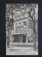 Ref5771 CPA Animée De Trouville (Calvados) Hotel De France - E. Gontier Propr. 1931 éd. Petitpierre - Trouville