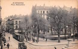 SAINT ETIENNE Place Badouillere 9(SCAN RECTO VERSO)MA109 - Saint Etienne