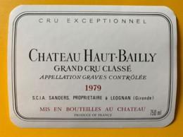 10403 -  Château Haut-Bailly 1979 Graves - Rouges