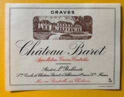 10406 -  Château Baret Graves - Rouges