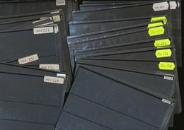 Hawid Einsteckkarten  C6  Schwarz   200  Stück     Gebraucht  Ohne  Karton - Classificatori