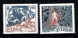 Sverige 1981  EUROPA  Yv 1123/1124**  MNH Cat. Yv. € 3,00 - Suède
