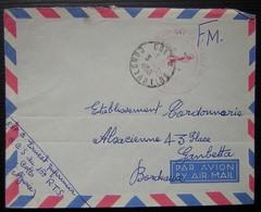 Algérie 1956 Collo Constantine 15ème Régiment De Tirailleurs Sénégalais - Storia Postale