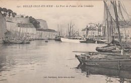 56 BELLE ILE EN MER             Le Port De Palais Et La Citadelle    PAS COURANT - Belle Ile En Mer