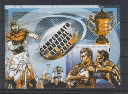 D225. Guine-Bissau MNH - 2011 - Sport - Rugby - Bl - Timbres