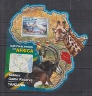 W224. Sierra Leone - MNH - 2016 - Fauna - Wild Animals - Parks Selous - Bl - Sellos