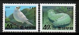 Korea 1995 Corea / Birds Sea Cucumber MNH Vögel Aves / Cu12528  41-10 - Pájaros