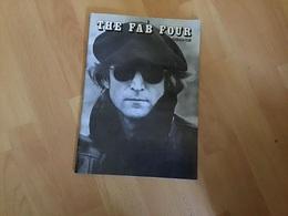 THE  FAB FOUR   John Lenon Publication Livres En Très Bonne état Les Beatles Numéro Spécial Oël 76 - Musique