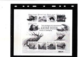 Buzin - Souvenirs Les Animaux En Mouvement Noir Et Blanc - 1985-.. Vogels (Buzin)