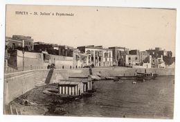 MALTE -- St JULIAN  ' S Promenade.........à Saisir - Malte
