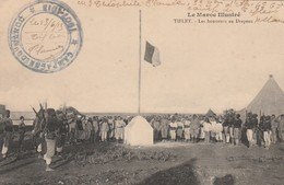 TIFLET MAROC LES HONNEURS DU DRAPEAU CAMPAGNE DU MAROC 1913 - Maroc