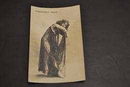 Carte Postale Publicité Chaussures Suisse BALLY Femme En Déshabillé Transparent Noir - Publicité