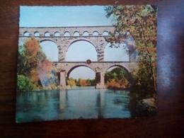 Carte Postale Musicale - Pont Du Gard - Cartes Postales