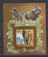 I226. Sierra Leone - MNH - 2015 - Fauna - Wild Animals - Elephants - Africa - Bl - Timbres