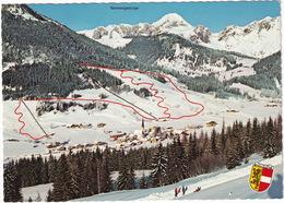 Wintersportort  St. Martin Am Tennengebirge (Lammertal) , 5 Schlepplifte - Schischule  - (Salzburgerland, Austria) - Lofer