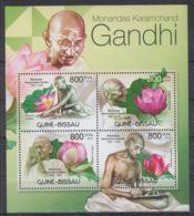 T623. Guinea-Bissau - MNH - 2012 - Famous People - Gandhi - Flowers - Autres