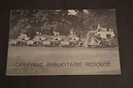 Carte Postale 1953 Caravane Du Tour De France Caravane REDOUTE - Cyclisme