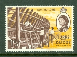 Turks & Caicos Is: 1967   QE II Pictorials   SG275   1½d   MH - Turks And Caicos