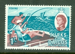 Turks & Caicos Is: 1967   QE II Pictorials   SG281   1/-   MH - Turks And Caicos