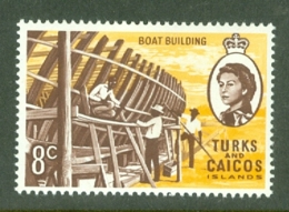 Turks & Caicos Is: 1971   QE II - Pictorial - Decimal Currency  SG339    8c    MH - Turks And Caicos