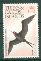 Turks & Caicos Is: 1973   Birds   SG382    1c    MNH - Turks- En Caicoseilanden