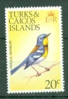 Turks & Caicos Is: 1973   Birds   SG391    20c    MNH - Turks And Caicos