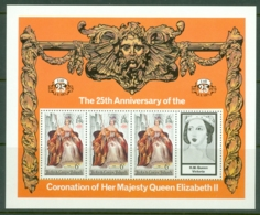 Turks & Caicos Is: 1978   25th Anniv Of The Coronation  MNH Sheetlets (x3) - Turks And Caicos