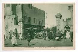 - CPA CASABLANCA (Maroc) - La Porte De Marrakech (belle Animation) - Editions Lévy 196 - - Casablanca