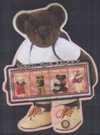 Y624. Liberia - MNH - Art - Adventures Bears - 100th Birthday - Arts