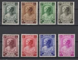 Belgique: 1937: 458/65 *, MH. Cote COB 2018 : 10 € - Unused Stamps