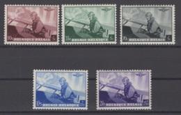 Belgique: 1938: 466/70 *, MH. Cote COB 2018 : 9 € - Unused Stamps