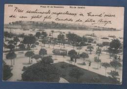 BRASIL - CP PRACA 15 DE NOVEMBRO - RIO DE JANEIRO - N°274 - A. RIBEIRO TRAVESSA AMBROSINA RIO DE JANEIRO - 1911 - Rio De Janeiro