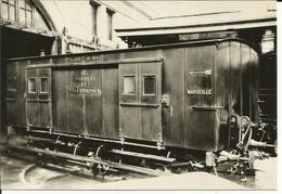 CP Museon Di Rodo N° 631 - Allège Postale PLM Paris-Marseille - Trains