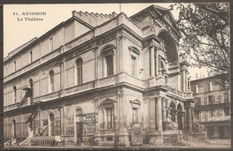 Cpa Avignon (84) Le Theatre (bon Etat) - Avignon