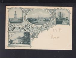 Baden AK Gruß Aus Steinbach Um 1897 - Baden-Baden
