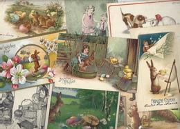 Lot N° 1728 De 10 CPA Lapins Bubby Lapin Rabbit Dont Gaufrées Déstockage Pour Revendeurs Ou Collectionneurs - 5 - 99 Cartoline