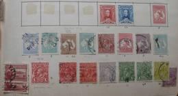 Australie 1912 Kangaroos OS 1913 1923 1924 1927 (20 Stamps) - Oblitérés