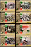 Italia / Italy 2011: 8 Foglietti Protagonisti Dell'Unità D'Italia / Leading Figures Of The Unification Of Italy, 8 S/S** - Altri