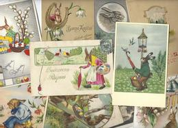 Lot N° 1733 De 10 CPA Lapins Bubby Lapin Rabbit Dont Gaufrées Déstockage Pour Revendeurs Ou Collectionneurs - 5 - 99 Cartoline