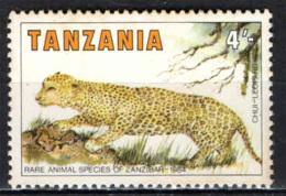 TANZANIA - 1985 - LEOPARDO - MNH - Tanzania (1964-...)